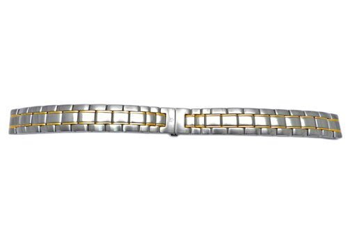 Swiss Army Officer LS Series Dual Tone 13mm Watch Bracelet