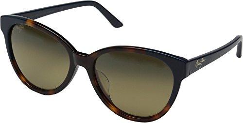 Maui Jim Sunshine Polarized Sunglasses - Women's Tortoise with Navy Blue / HCL Bronze One - Sunglasses Eye Jim Cat Maui