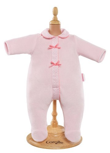 "Corolle Mon Classique Pink Pajamas for 17"" Doll Fashions from Corolle"