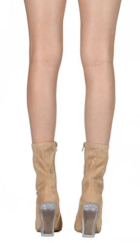 Legend Natural Heel Boots Suede 22 Blossom Clear SIBw0YrSq