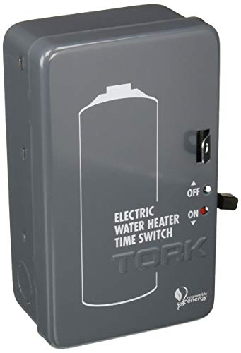 (Tork NSI WH2B Mechanical Water Heater Time Switch, 24-Hour, 208/250V, 40A,)