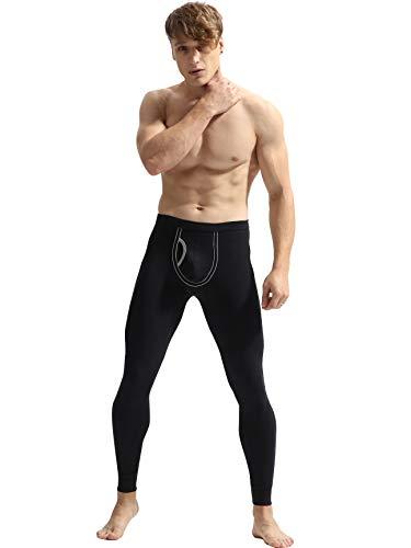 - Cadmus Men's Thermal Long Johns Base Layer Legging,Black,9801,US S,Tag L