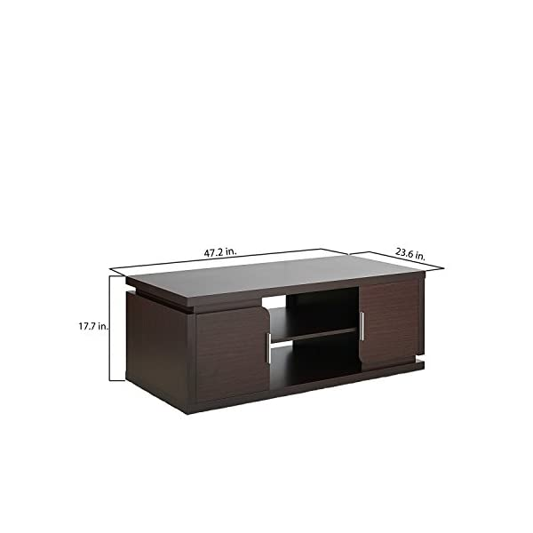 Admirable Zuri Furniture Mcintosh High Gloss Coffee Table With Storage Short Links Chair Design For Home Short Linksinfo