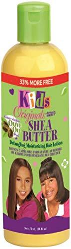 Lotion Moisturizer Original Oil Hair - Africas Best Kids Orig Lotion Shea Butter Detangling 12 Ounce (354ml)