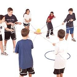 team building flag game for kids