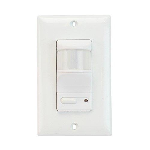 Pass Seymour Legrand OSC3020-W Occupancy Sensor Switch 10A 120/277V Fluorescent Incandescent, Whtie