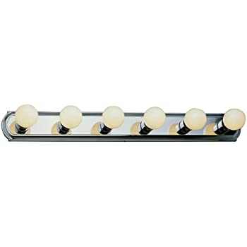 Trans Globe Lighting 3236 ROB 6 Light Basic Strip Bathroom Bar Light,  Rubbed Oil