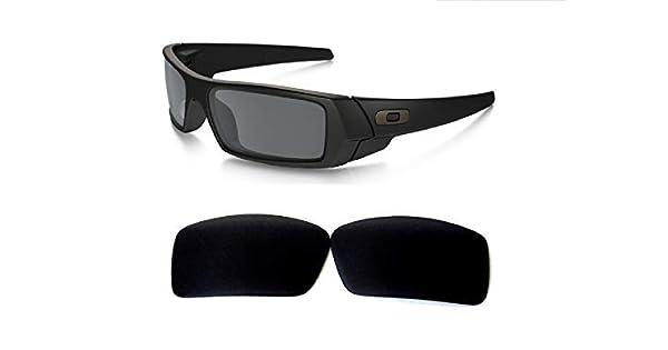 834432cafc Lentes de repuesto para Galaxy Oakley Gascan polarizadas negras 100% UVAB,  Estándar, Regular: Amazon.com.mx: Ropa, Zapatos y Accesorios