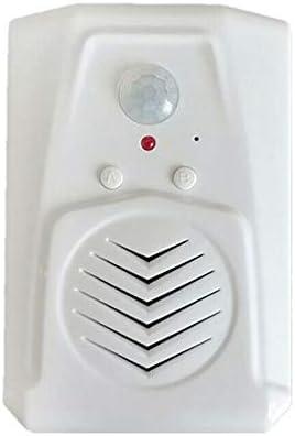 Gaoominy センサーモーションドアベルスイッチ MP3赤外線ドアベル ワイヤレスPIRモーションセンサー 音声プロンプト ウェルカムドアベルエントリアラーム