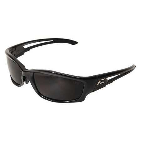 Edge Eyewear SK116-AFT Kazbek Asian Fit, Black with Smoke - Asian Glasses Mens