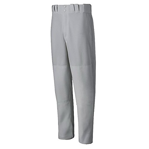 Mizuno Mens Premier Relaxed Fit Full-Length Pants Xx-Large Grey XX-Large by Mizuno