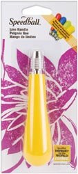 Bulk Buy: Speedball Art Lino Handle 1/Pkg Yellow SB412-41 (3-Pack) by Speedball