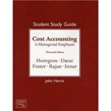 student solutions manual for cost accounting 13th thirteenth rh amazon com Textbook Solution Manuals Textbook Solution Manuals
