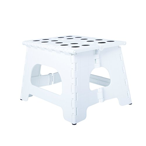 Range Kleen SS1W Single Step Stool, White