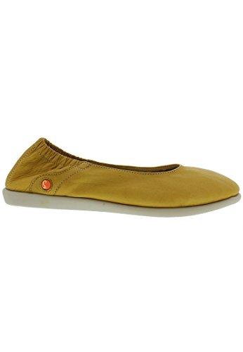 Softinos  Vis900275sof, Ballerines femme - jaune - jaune, 41