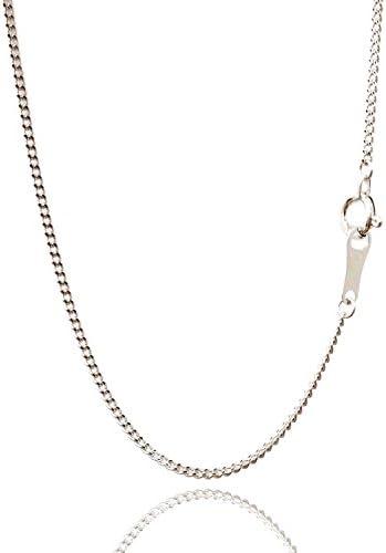 喜平 ネックレス チェーン 45cm 1mm K18 WG 喜平ネックレス 喜平チェーン K18 ホワイト 18金 ネックレス安心の日本製 K18WG