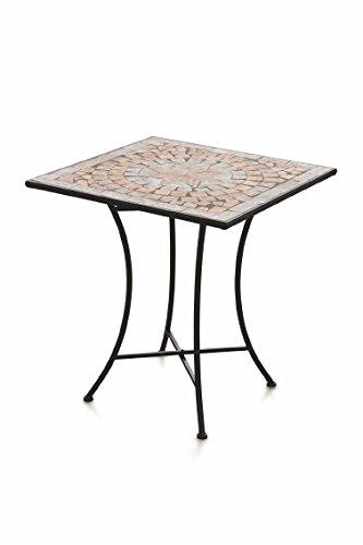 75 x Galileo Casa 70 Table mosaïque cm 70 x Cipro carrée 3RjLq5c4A