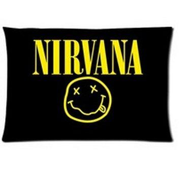 Amazon.com: Decoración del hogar banda de rock Nirvana Cojín ...