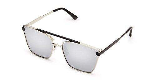 Cassius Sunglasses | Cat Eye Aviator Frames | UV - On Prowl Quay The