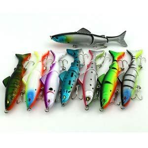 Agordo Multi Jointed Fishing Lures Bait 12.5cm Large Swimbait Hook Equipment