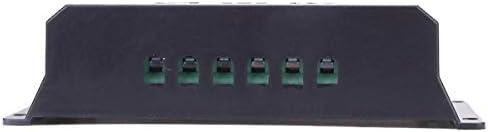 LCD 20 / 30A 12V / 24V Solar Panel Controller Regler laden Batterie Schutz Intelligent, USB Port, LCD Display Überlastschutz (Size : 30A)