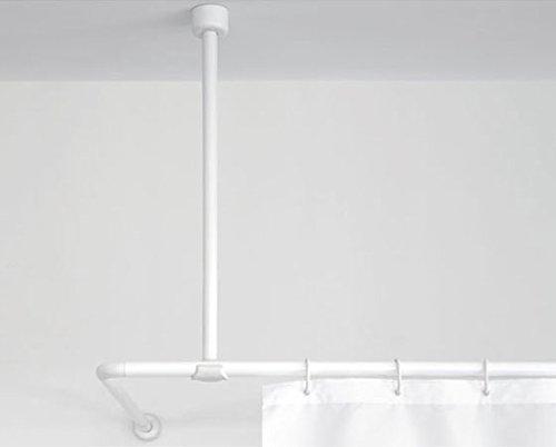 Gedy 9200020010 - Diametro soffitto doccia sostegno bar x 25 bianco