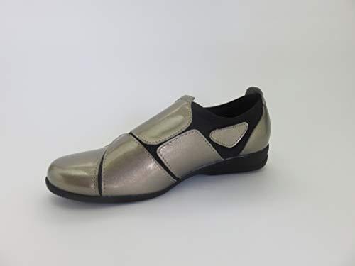 ストレッチシューズ レディース 歩きやすい 外反母趾 靴 ウォーキングシューズ エナメルSC1802