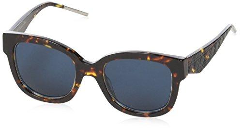 Christian Dior - VERY DIOR 1N, Wayfarer, acetate, women, HAVANA/BLUE(TVZ/KU), (Very Dior Sunglasses)