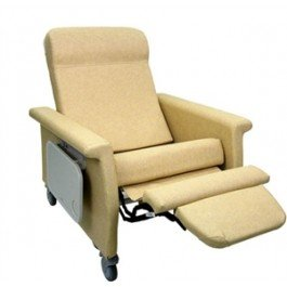 Recliner Reclining Elite (Winco 6910 Extra Large Elite CareCliner Patient Recliner)