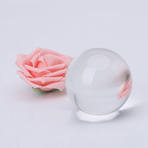 Price comparison product image Hacloser Stage Prop Crystal Ball Magic Tricks for Children 2.76 inch