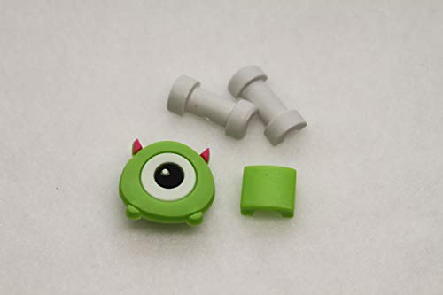 Character Cartoon Cable Chomper Cable Protector Charging Cord Protector for iPhone 6 6s 7 8 X (Green Monster Mike Wazowski)