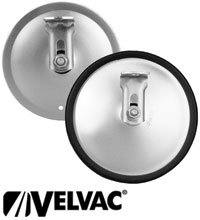 Velvac Convex Stainless 5 Spot Mirror