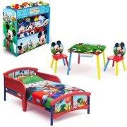 Mickey Mouse Bedroom Set with BONUS Toy Organizer