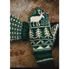Fair Isle Mittens Pattern by Mountain Colors Yarn