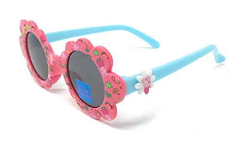 Peppa Pig Girl's Sunglasses in Flower Shaped Design in Pink and - Sunglasses Girls In
