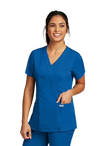 Grey's Anatomy Womens Scrubs, New Royal, Medium ()