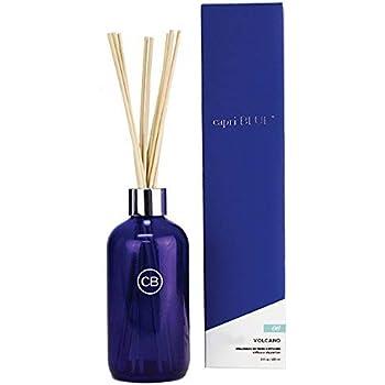 Capri Blue capri06 Reed Diffuser Set Fragrance 8 Fl. Oz-Volcano No. 6, 6in Height by 2.25in Diameter, 10in Stick, Blue