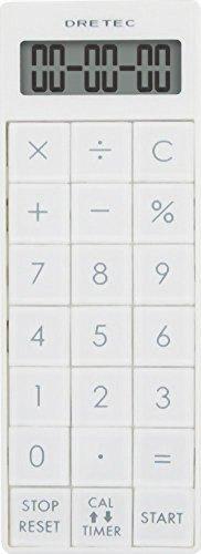Doritekku with calculator long timer white CL-116