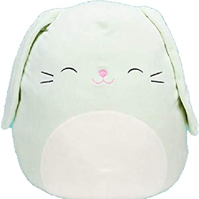 "Squishmallow Kellytoy 8"" Easter Collection Plush Doll (8"" Isabella The Light Green Bunny): Toys & Games"