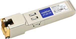 AddOn Brocade 100BASE-T Compatible 100Base-TX SFP Transceiver (Copper, 100m, RJ-45)