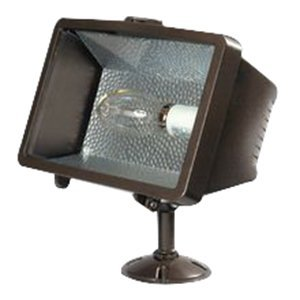Lumark MPSF10T-MT SF Falcon Floodlight, 100W, MP Multi-Tap Trunnion with Lamp Bronze