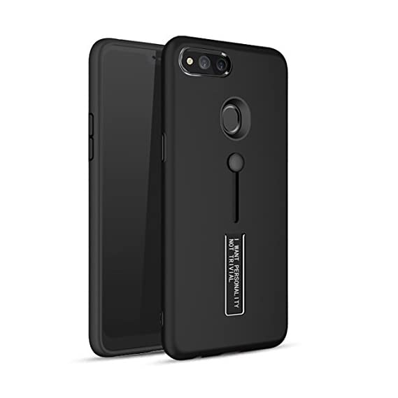 BestTalk Honor 9 Lite Extreme Shock Absorption Tough Armor Case with Inbuilt Stand & Hand Holder Strap for Honor 9 Lite