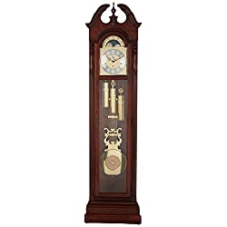 Ridgeway 2580 Meadowbrook Grandfather Clock, Glen Arbor Cherry