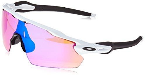 72d4e61107d88 Amazon.com  Oakley Men s Radar Ev Path Non-Polarized Iridium Rectangular  Sunglasses, Polished Black, 0 mm  Clothing