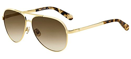 Kate Spade Amarissa/s 00NR Gold Brown Havana brown gradient - Spade Sunglasses Sale Kate
