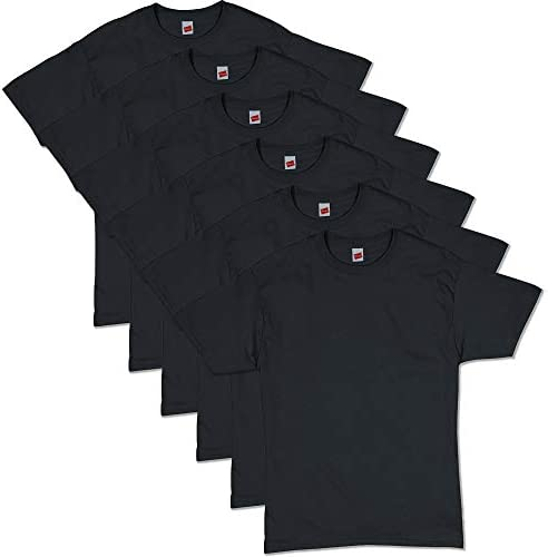 Hanes ComfortSoft Men's Short T-Shirt Sleeve 6 Pack