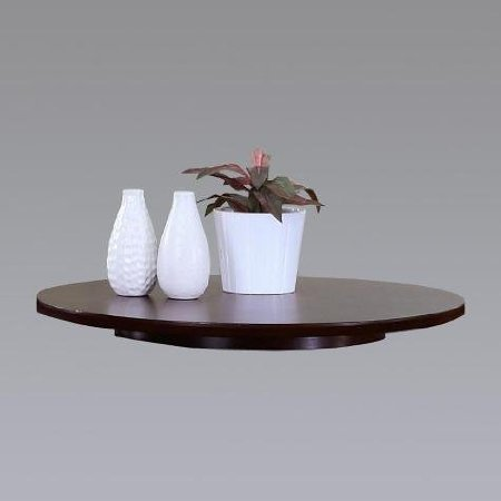 22'' Dia Espresso Wood Lazy Susan by HP