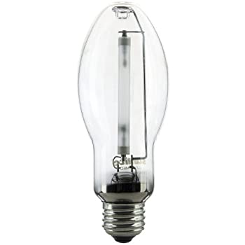 Sunlite 03620-SU LU150/MED 150 Watt HPS ED17 High Pressure Sodium Light Bulb, Medium Base, Clear