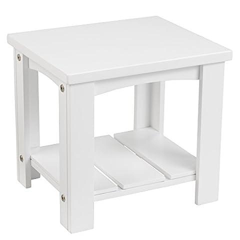 KidKraft Toddler Addison Table, White