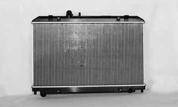 TYC 2695 Mazda RX-8 1-Row Plastic Aluminum Replacement Radiator